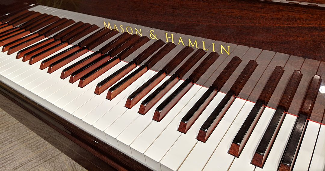 Why Are These Piano Keys Brown On The Sides?