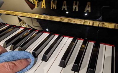 How to care for your piano keys