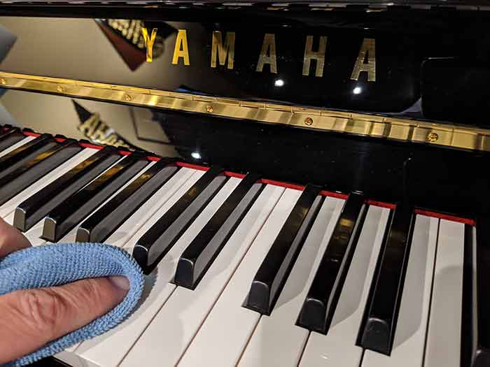 Hulbert Piano- How to care for your piano keys